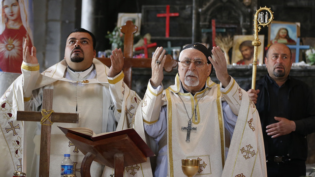 A bloody Easter for Christians in the Middle East