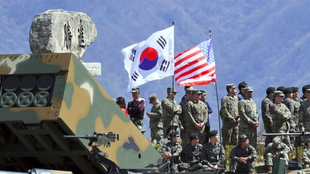 US military begins installation of missile defenses in South Korea