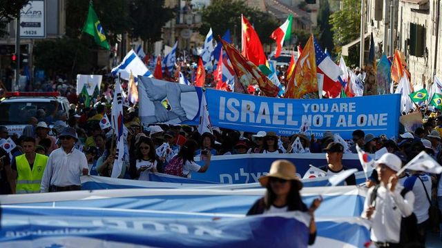 Evangelical Christians Head to Jerusalem to Rally Behind Israel