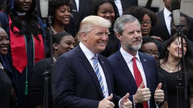 Christian conservatives now 'own' Trump