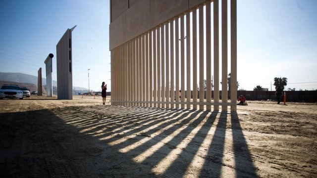 Border Wall Prototypes Are Unveiled, but Trump's Vision Still Faces Obstacles