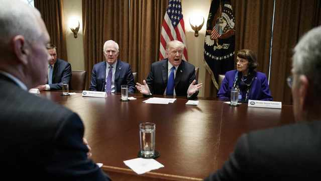 Trump's Calls for Gun Action Upend Party Orthodoxy