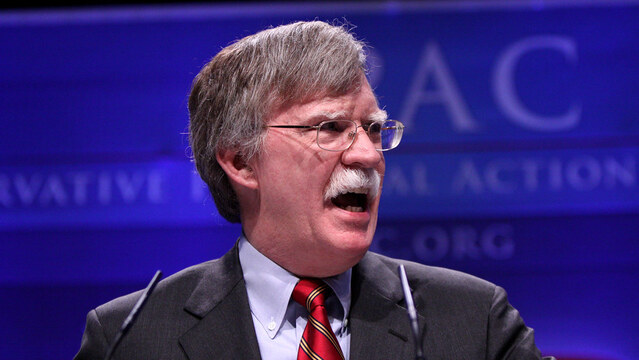Trump blasts 'Mr. Tough Guy' Bolton: 'He made some very big mistakes'