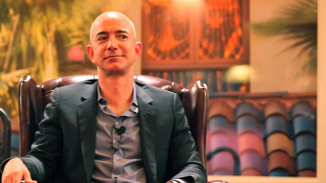 Jeff Bezos is now worth more than $200 billion