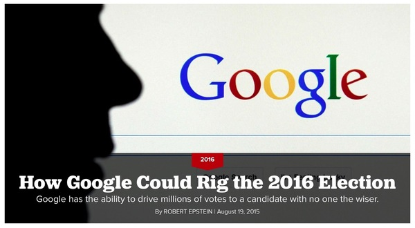 There is no doubt Google is politically biased