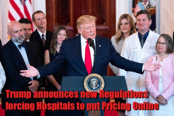 Trump orders Hospital Pricing Transparency