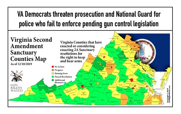 Is VA where the Shooting Starts in the coming Civil War?