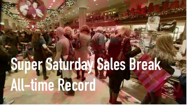 Super Saturday Sales Break All-Time Record