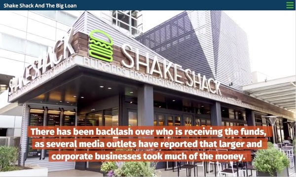 Report: Publicly traded firms get $300M in small-business loans