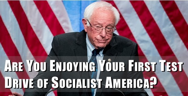 How do you like living in Socialism America?