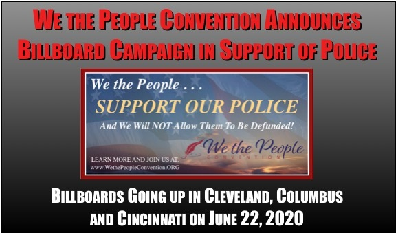 WTPC Puts Up Billboards in Support of Police