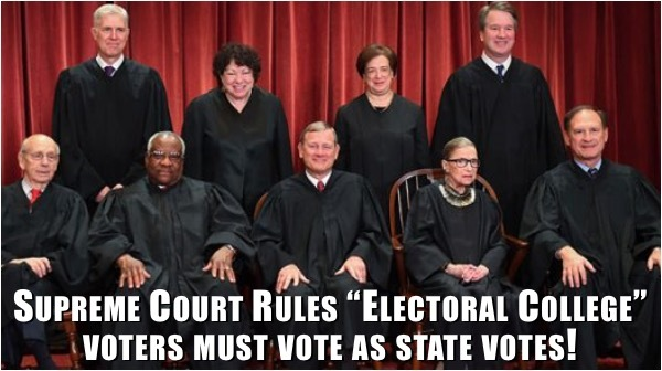 Supreme Court Stops Left's Attempt to Rig Electoral College