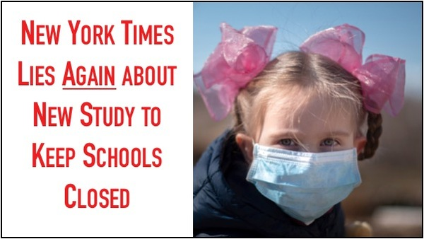 NY Times LIES AGAIN in Effort to Keep Kids out of School