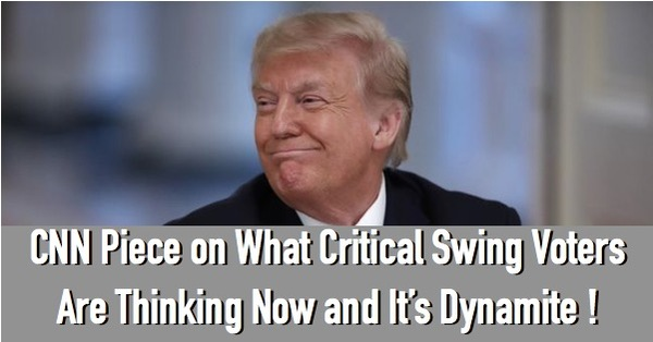 CNN Gets Bad News from Swing Voters!