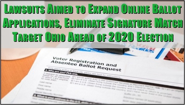 OH Dem's Sue to End Voting Signature Requirements