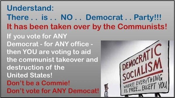 PROOF that the Democrat/Communist Party is OWNED by China!