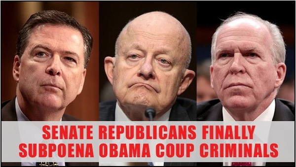 Republicans in Senate FINALLY Act Against Coup Criminals