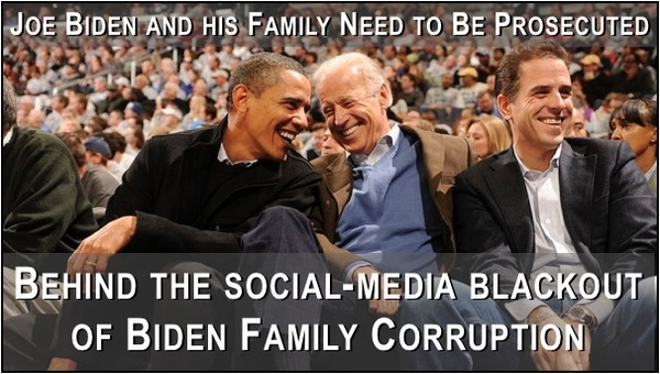 Biden and his Family Should be in Jail Not the White House!
