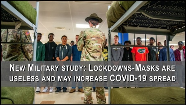 New study: Lockdowns-Masks are useless and may increase COVID-19 spread