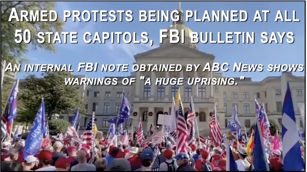 FBI 'Leaked' Bulletin about Armed Protests is Designed to Smear Conservatives