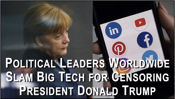 Foreign Govs Call Out Twitter and Facebook for Censoring Trump