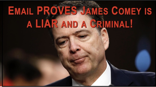 New Email Proves Comey Knowingly Lied  to FISA Court!