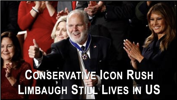 Conservative Icon Rush Limbaugh Dies at Age 70