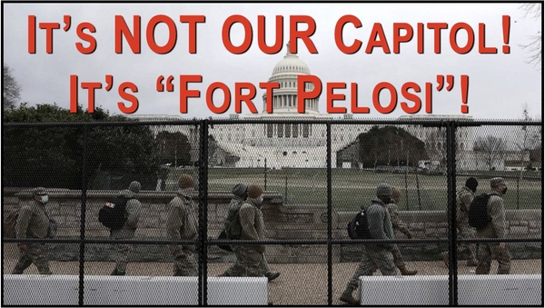 Washington D.C. Get's new Name - Fort Pelosi