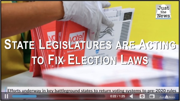 Multiple States are Working on Election Reform Laws