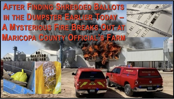 Is this Maricopa County Election Fraud Coverup?