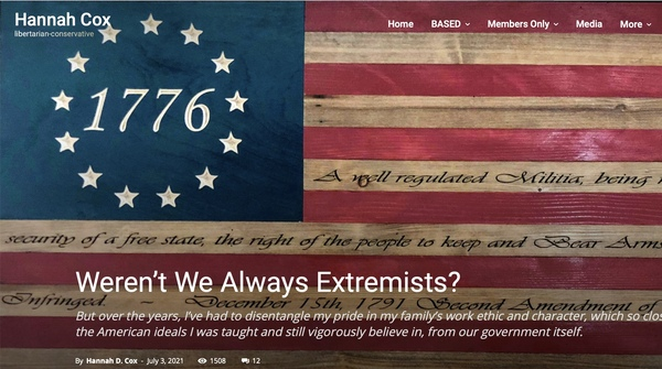 Be proud to be an 'Extremist' that's what it means to be American!