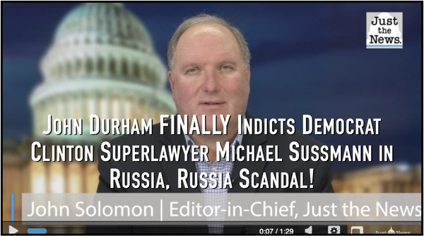 Durham Indicts Clinton Lawyer for Russia Hoax!