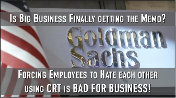 Who would have thought? CRT is Bad for Business!